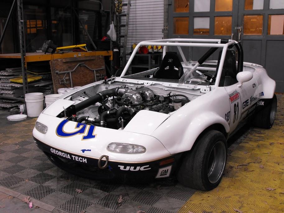 Crazy Supercharged Lexus V8 Miata | JDY Motorsport COM